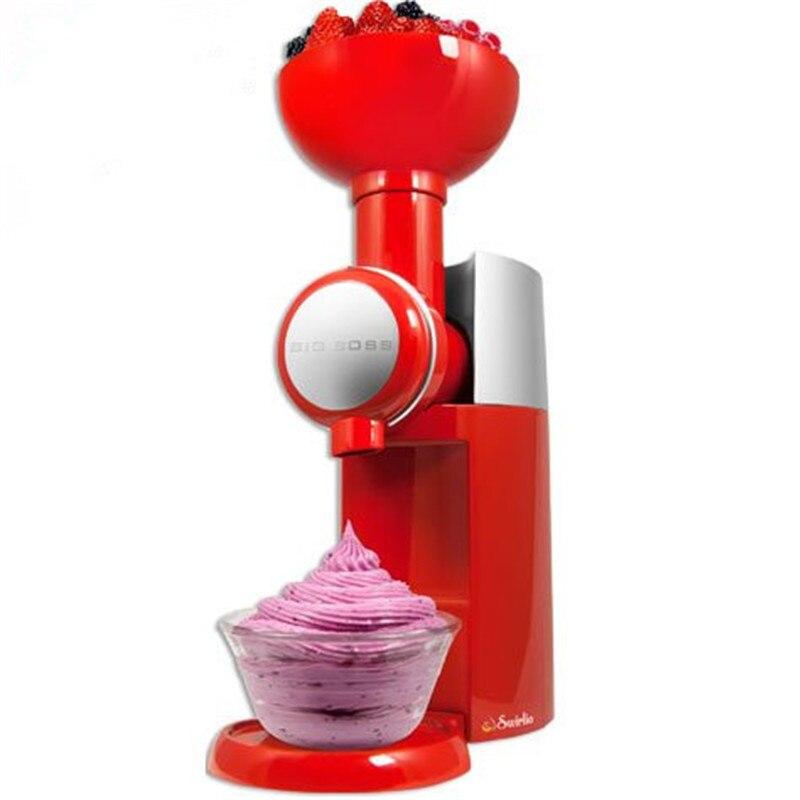 Big Boss Swirlio Frozen Fruit Dessert Maker Ice Cream Maker Milkshake DIY Cold Drink Machine Hotel Home Kitchen Tool