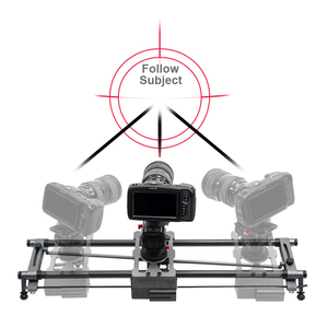Image 2 - YC ONION Track Camera Slider Carbon Fiber Adjustable Angle Tube Follow Focus Pan for Stabilizer DV DSLR Cameras Video Shooting