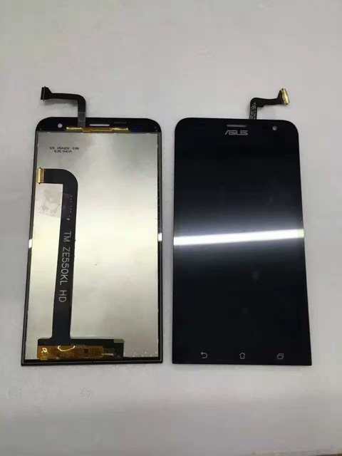 for Asus Zenfone 2 Laser ZE550KL Z00LD 5.5 inch Touch Screen Digitizer +LCD Display Glass Lens Assembly Replacement  Parts