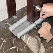 95 см Гибкая дверная Нижняя уплотнительная лента защита уплотнитель стопор дверной уплотнитель защита от ветра блокировщик пыли уплотнитель стопор дверное уплотнение