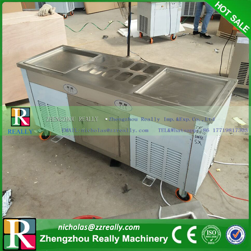 With temperature control and set japan famous compressors thailand with temperature control and set japan famous compressors thailand style fry ice cream machine fried ice cream machine in ice cream makers from home ccuart Choice Image