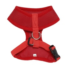 Rabbitgoo Breathable Dog Harness XS-XL 5 Sizes Soft Pet Collar Nylon Mesh Vest for Cat Leather Accessories