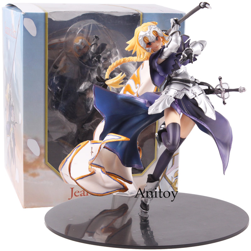 Fate Grand Order Jeanne D'Arc Figure Ruler PVC Anime Fate Apocrypha Ruler Joan of Arc Figure Collectible Model Toy 20cm fate grand order fate apocrypha anime jack the ripper assassin mordred astolfo joan of arc atalanta semiramis rubber keychain