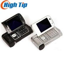 Оригинал Восстановленное Nokia N93 Wi-Fi 3.15MP Bluetooth 3 г открыл мобильный телефон Бесплатная доставка