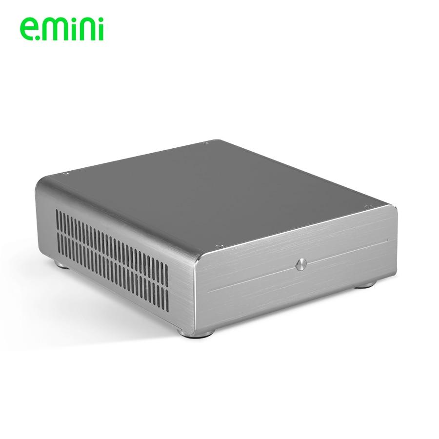 Neue Ankunft itx HTPC Aluminiumgehäuse für PC-Desktop DIY