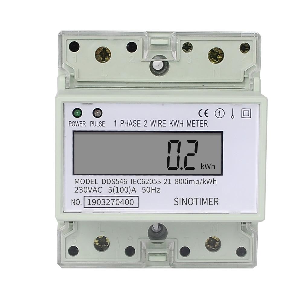 230v single phase wiring 230v single phase 2 wires digital electric energy meter  230v single phase 2 wires digital
