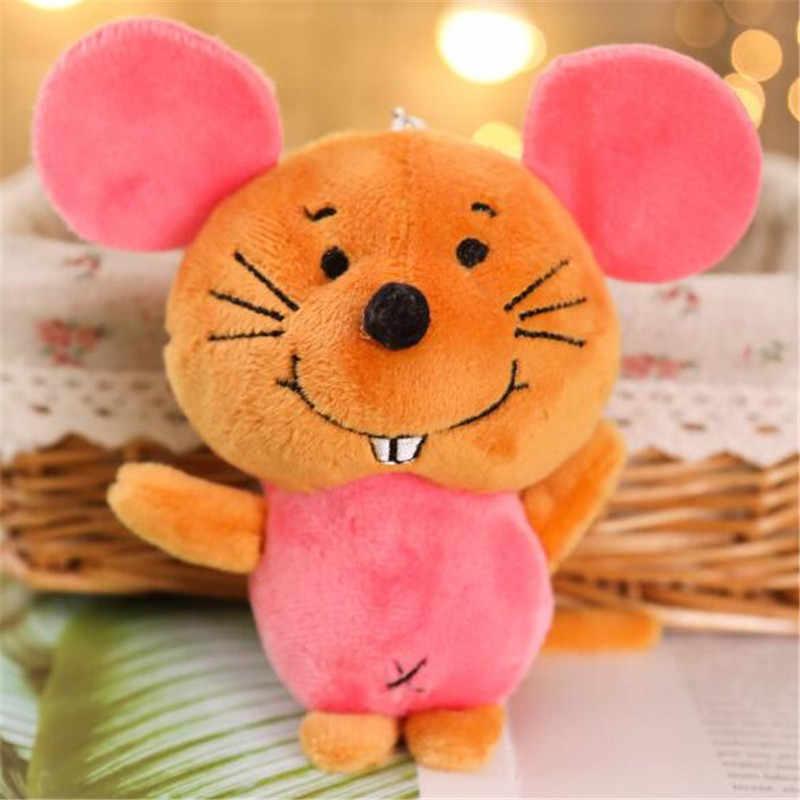 1 шт., милые плюшевые игрушки с мышкой, Маленькая подвеска, детский подарок, креативные Kawaii мыши, мягкая игрушка для детей, горячая Распродажа, 11 см, HANDANWEIRAN