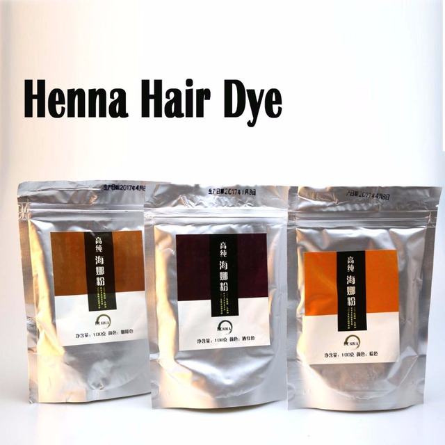 Pure Henna Hair Dye Powder (3.5 Oz *2) | All Natural, High Pigment Color for Hair, Root Touch Up, Beard & Eyebrows 200Gram