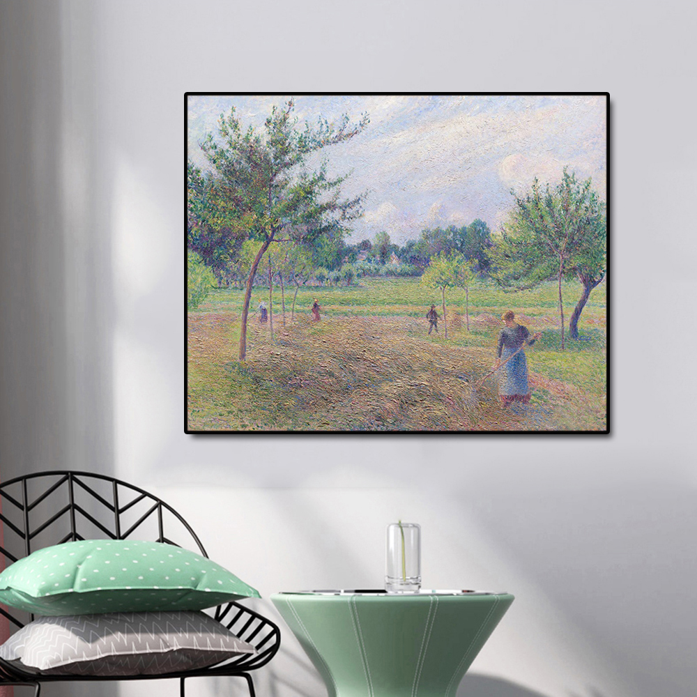 Agricultural Labor Famous Oil Painting Wall Art Poster Print Canvas Painting Calligraphy Picture for Living Room Home Decor in Painting Calligraphy from Home Garden