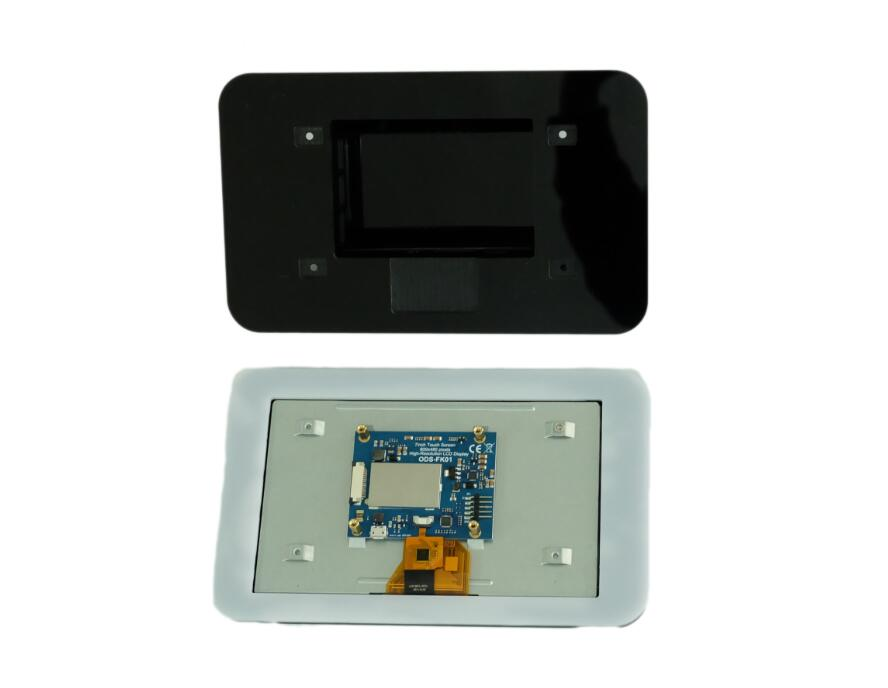 US $19 8 10% OFF|New 7 inch Touch Screen Display with 10 Finger Capacitive  Touch w/ DSI Driver Board For Raspberry Pi-in Demo Board Accessories from