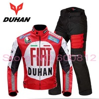 DUHAN Autumn And Winter Moto Racing Suits Set Cross Country Motorcycle Jacket Pants Motorcycle Riding Clothe