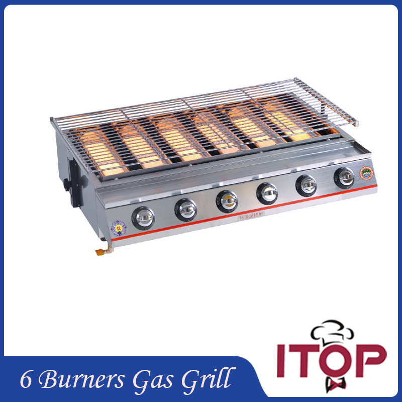 popular 6 burner gas bbq buy cheap 6 burner gas bbq lots. Black Bedroom Furniture Sets. Home Design Ideas