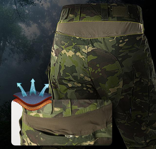 Odzież myśliwska kamuflaż taktyczny mundur G3 armia kombinezon bojowy zestawy Airsoft Paintball Multicam Cargo spodnie koszulki z długim rękawem tanie i dobre opinie OWNTMT COTTON Poliester spandex TAO442 Tatical G3 Set Suknem Medyczne As picture S M L XL XXL 3XL 30 32 34 36 38 40 War game Painball Hunting Hiking Camping Combat
