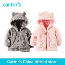 Картера 1 шт. детские дети дети Шерпа Капюшоном Куртки 127G238/127G250, продавец картера Китай официальный магазин