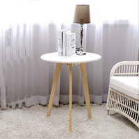 Nordic Wooden Coffee Table For Living room Bedroom Side Tables Minimalist Furniture table basse de salon Console Tea Table