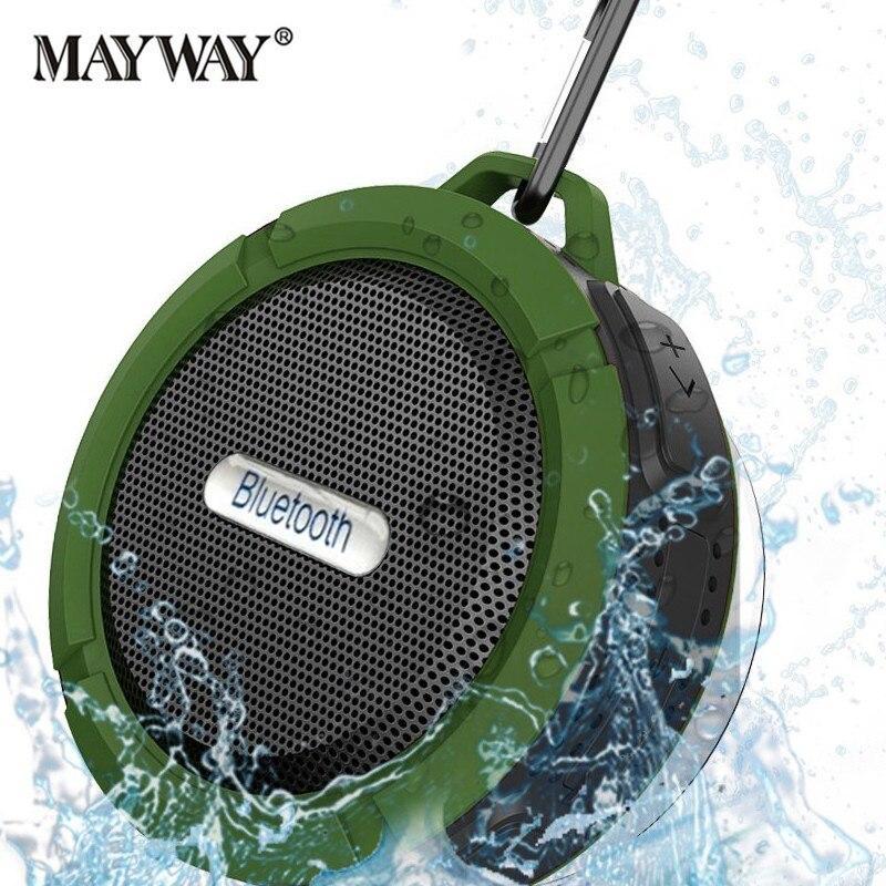 Portable Waterproof Bike Wireless <font><b>Bluetooth</b></font> Speaker Loudspeaker Receiver Sound Box Handsfree Subwoofer For xiaomi Phone