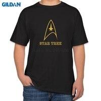 2017 T Shirt Men Cotton Star Wars Star Trek T Shirt Cotton Mens Tee Shirts Funny
