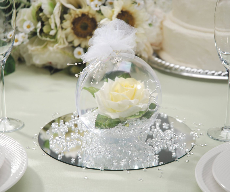 10pcs romantic design 60mm transparent clear glass balls wedding 10pcs romantic design 60mm transparent clear glass balls wedding party bauble xmas christmas decorations party window decorate in tool parts from tools on junglespirit Images