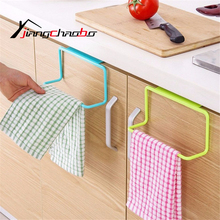 1Pcs PP Hanging Garbage Bags Rack Wash Cloth Towel Storage Kitchen Holders Cupboard Cabinet Hanging Stand