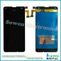 Tela de lcd com tela de toque digitador assembléia conjunto completo para nokia microsoft lumia 550 aimaa, 100%