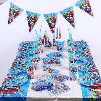 Super Hero The Avengers Birthday Party Decoration