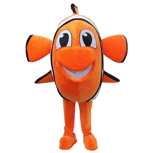 Clown Fish Mascot Finding Nemo Mascot Birthday Carnival Halloween Costume  Custom Made(China) - Online Buy Wholesale Nemo Halloween Costumes From China Nemo