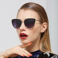 Cat eye солнечные очки женщин очки очки солнцезащитные очки унисекс gafas óculos de sol feminino óculos де грау очки