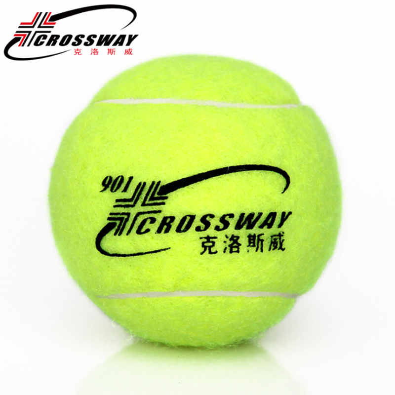 CROSSWAY Tennis Balls Training Ball Outdoor Sports Wholesale 5pcs