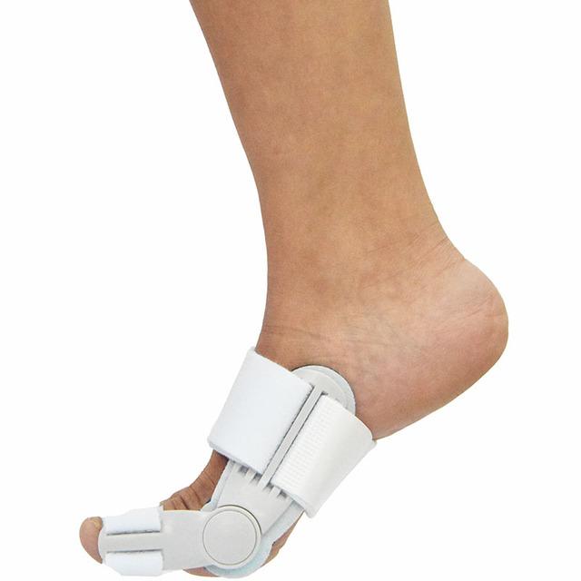 Aparatos de ortopedia para tratamiento de hallux valgus dedo gordo del pie valgo o fijación externa de post-operación con gel de silicona pad