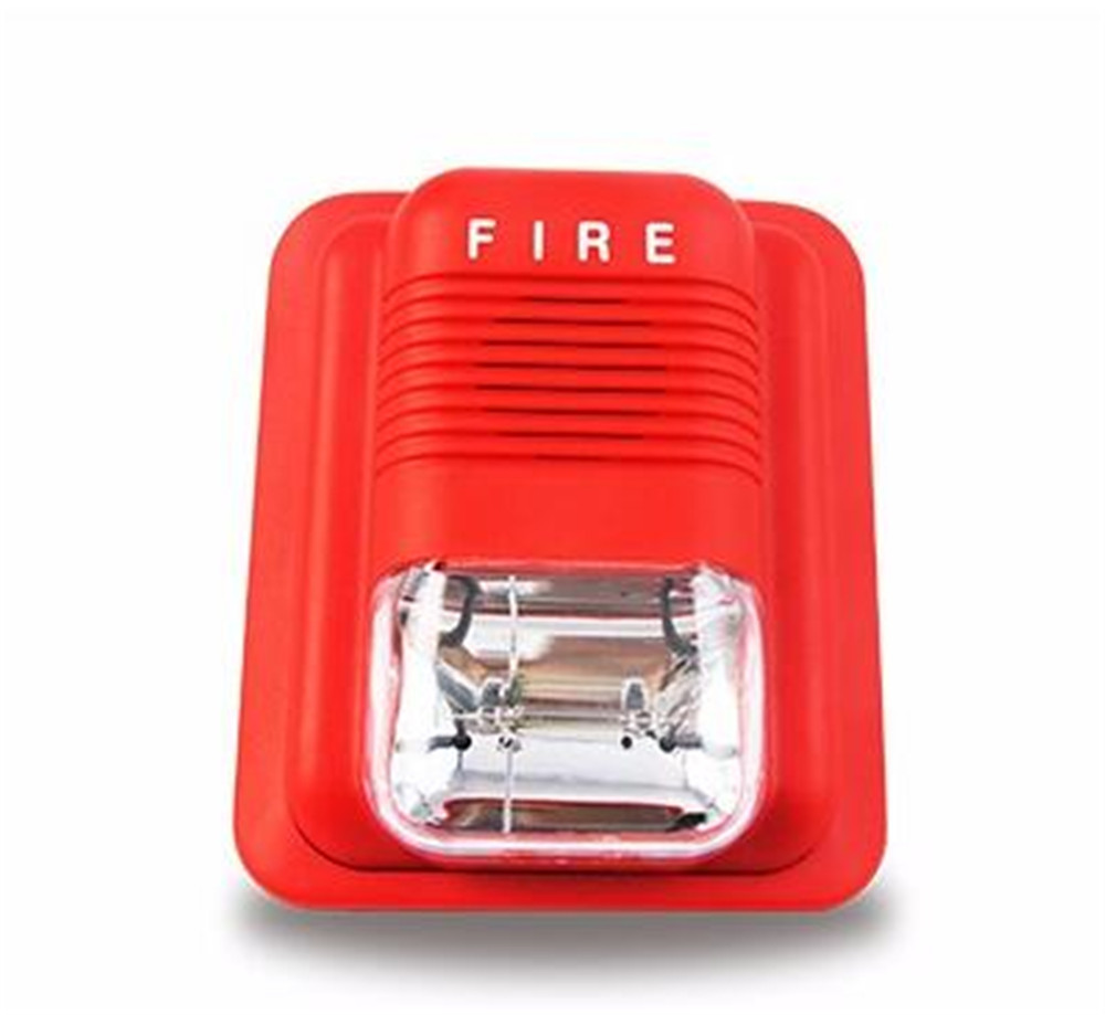 Fire Control Alarm Flash Wired strobe siren
