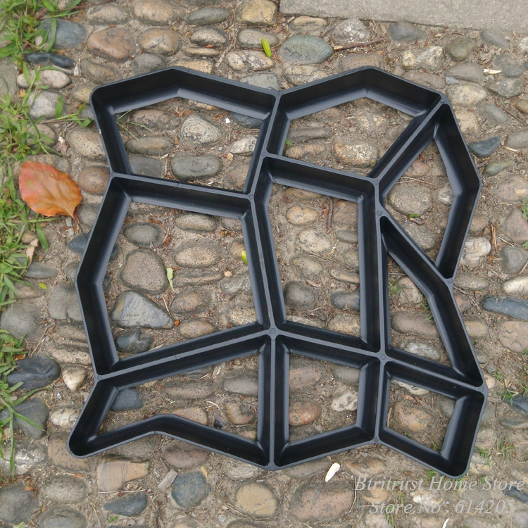 DIY Pathmate Concrete Stepping Stone Mold In Yard U0026 Garden Decor From Home  U0026 Garden On Aliexpress.com | Alibaba Group