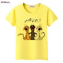 BGtomato Lovely Pets Black Cats Cartoon T Shirts Woman's Super Fashion New Shirts Brand Good quality soft casual Tops