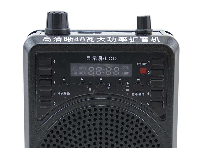 Бесплатная доставка беспроводной усилитель звука петличный микрофон наушники микрофон обучающая Колонка мегафон учитель гид громкий динамик PA система