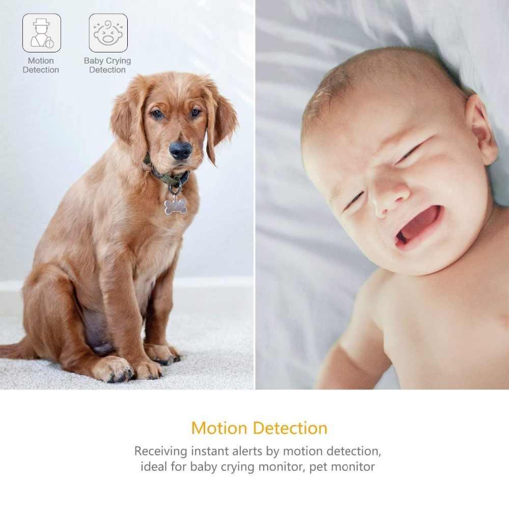 YI 1080p caméra d'intérieur IP système de Surveillance de sécurité avec Vision nocturne pour la maison/bureau/bébé/nounou