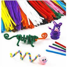 CXZYKING 100 Stickers Montessori Materials Puzzle Sticker Anime Plush Toys Pipe Cleaner Toys For Children Handmade DIY Stickers