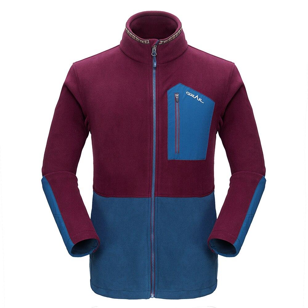 Grail Outdoor Hiking Jacket Ерлер Thicken Brand Fleece Jacket - Спорттық киім мен керек-жарақтар - фото 1
