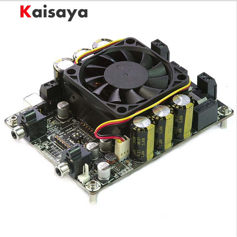 new TAS5630B 2x300W Class D digital power amplifier board stereo two-channel enthusiast free shipping tas5630 amplifier class d board high power finished boards mono 600w for subwoofer or full range diy free shipping
