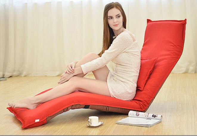 Lounger sofa. Single bed chair. Foldable and open window lounge chair.06