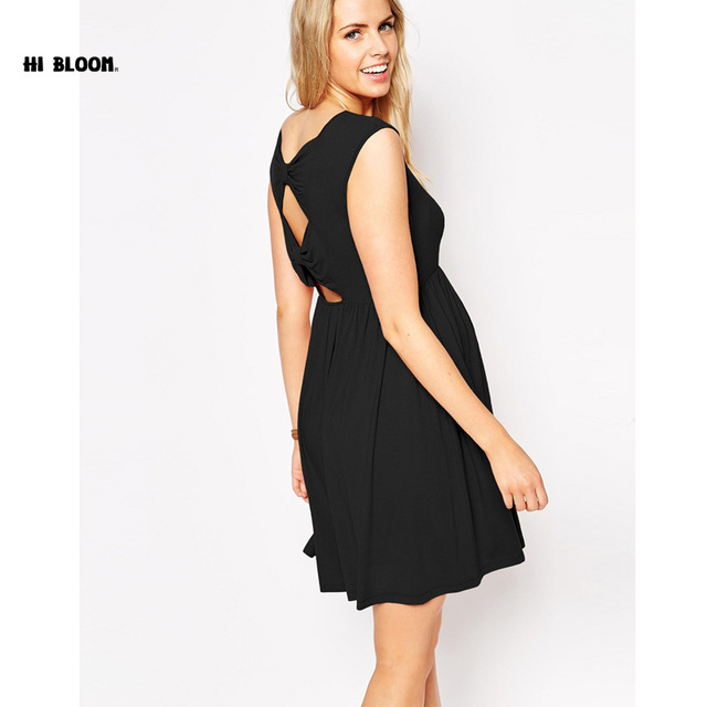 christmas maternity clothing o neck evening dresses for pregnant women high quality hollow pregnancy party - Maternity Christmas Dress