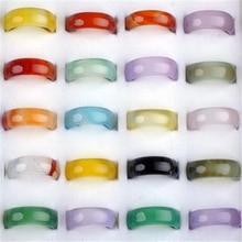 50 יח\חבילה PINKSEE Vintage מעורב טבעי אבן טבעית טבעת לנשים לשני המינים סיטונאי מתנות תכשיטי טבעות אצבע קסם האופנה