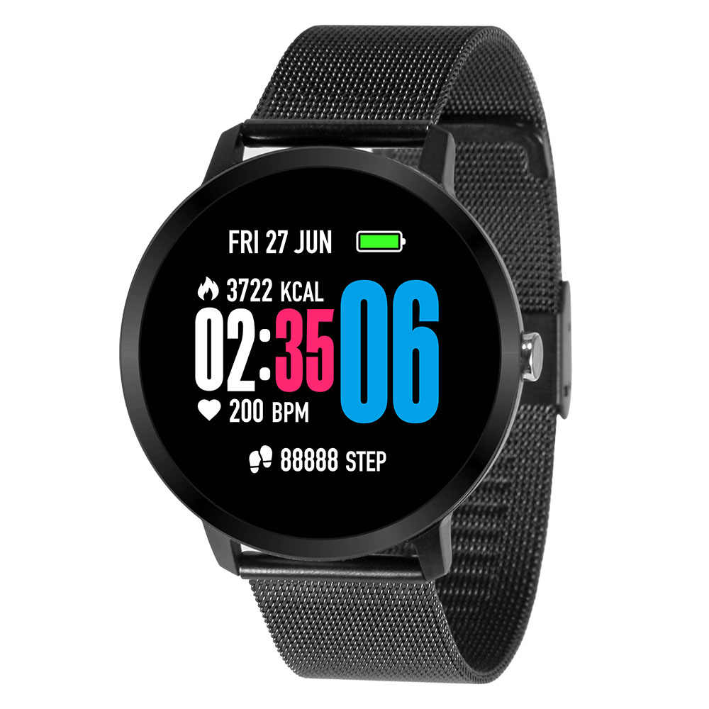 Smart Watch IP67 Waterproof Activity Fitness tracker Heart rate monitor BRIM Men women smartwatch for Android ios xiaomi iphone