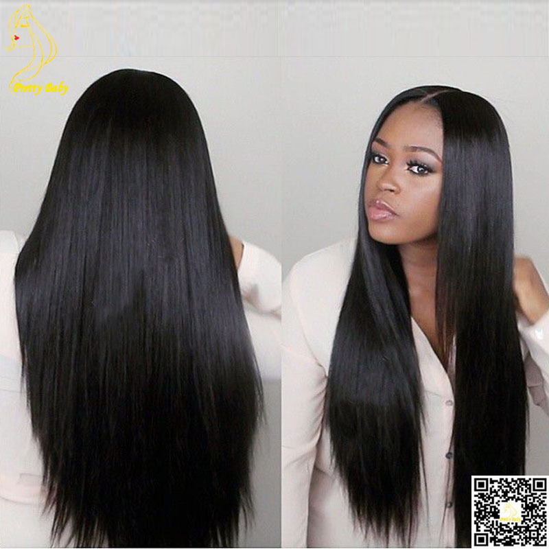Best Virgin Brazilian Full Lace Human Hair Wigs Silky Straight Human Hair Lace Front Wigs