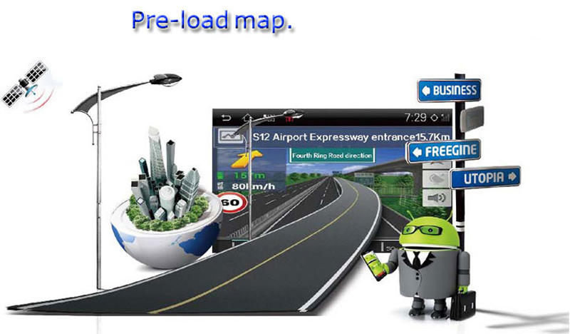 Road Top Android 6.0 System 9 inch Car GPS Navigation DVD Player Radio Multimedia Stereo Head Unit for Seat Altea XL Toledo Leon