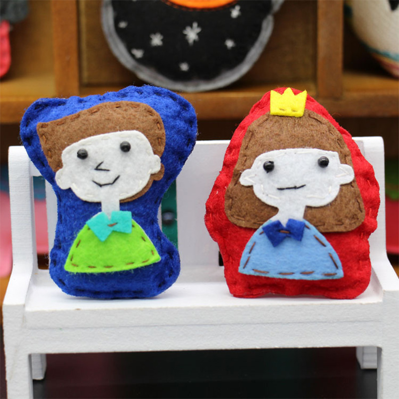5a221657e Brand New Handmade Cute Cartoon Boy and Girl Brooch Pin Fashion Jewelry  All-match Children Clothing Accessories Holiday gifts