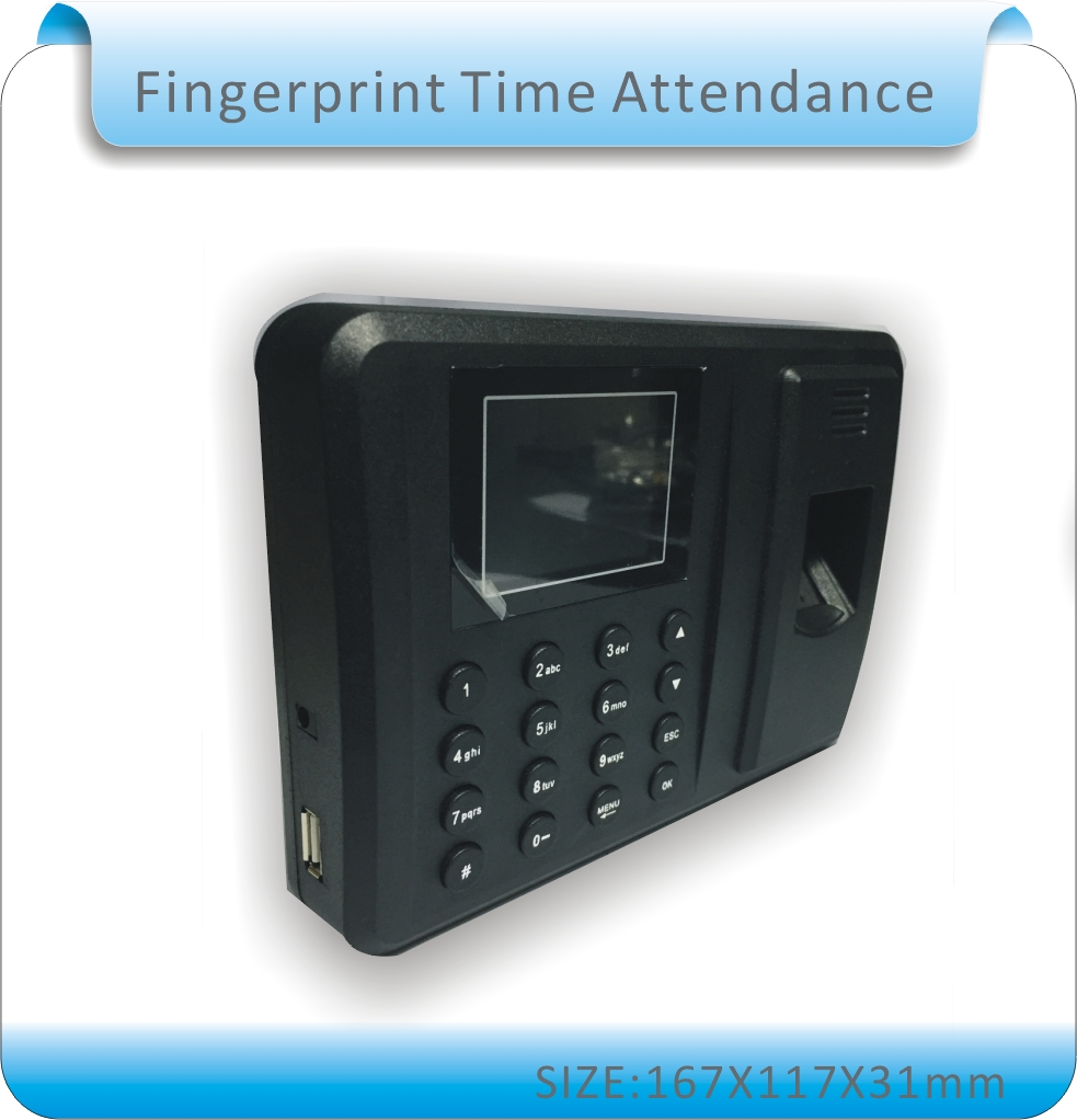 Free shipping USB Biometric Fingerprint Time Attendance Clock Recorder Employee Digital Electronic English  Voice Reader Machine diysecur usb biometric fingerprint time attendance clock recorder employee digital electronic english voice reader machine