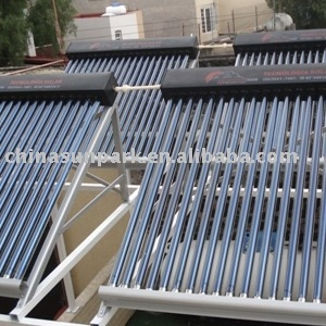20 tubes heat pipe pressure solar collector