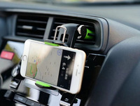 Foldable Auto Suction Mounts Mobile Phone Car Air Vent Clip Holders Stand For Galaxy A3 A5