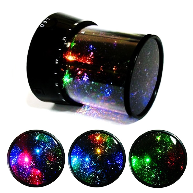 Amazing Star Master Home LED Starry Sky Night light Cosmos Master Projector Night Lamp Flashlight Christmas Gift CD