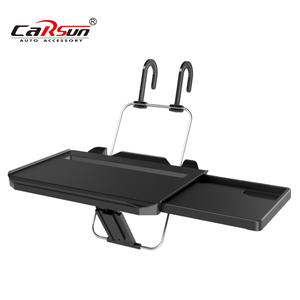 Portable Foldable Car Laptop Stand Table Food Drink Holder Car Seat Steering Wheel