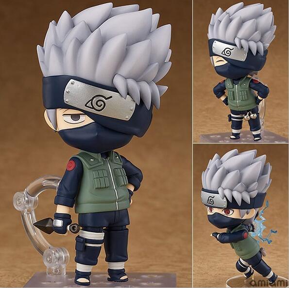 10 cm Naruto Shippuden Hatake Kakashi Nendoroid 724 # Anime Action Figure giocattoli IN PVC figure Raccolta per gli amici i regali